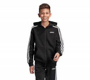 DV1823 ADIDAS ΖΑΚΕΤΑ ESSENTIALS 3-STRIPES HOODIE