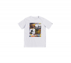 EQBZT04134 QUIKSILVER T-SHIRT YOUNGER YEARS SS