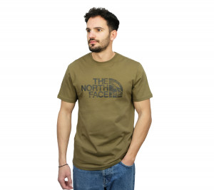 NF00A3G1 THE NORTH FACE T-SHIRT S/S WOODCUT DOME