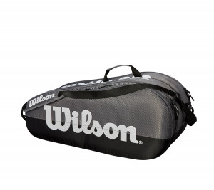 WRZ854909 WILSON ΤΣΑΝΤΑ ΤΕΝΙΣ TEAM 2 COMPARTMENTS 6-PACK
