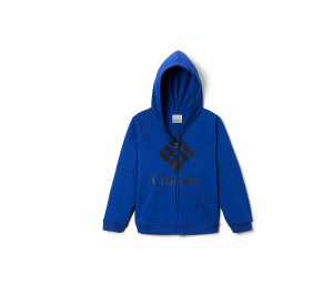 AB0061 COLUMBIA ΖΑΚΕΤΑ ΜΕ ΚΟΥΚΟΥΛΑ BRANDED FRENCH TERRY FULL ZIP UPF 50