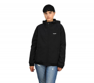 202.EW11.87 EMERSON ΜΠΟΥΦΑΝ ΜΕ ΚΟΥΚΟΥΛΑ SOFT SHELL RIBBED WITH HOOD
