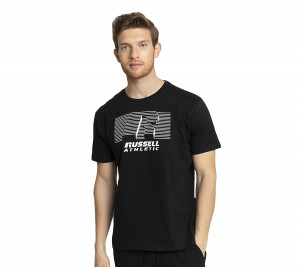 A1-078-1 RUSSELL ATHLETIC T-SHIRT CREWNECK S/S