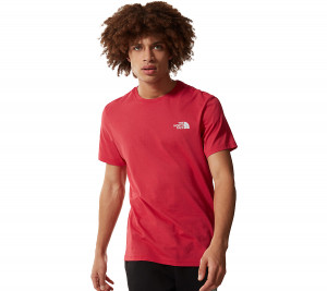 NF0A2TX5 THE NORTH FACE T-SHIRT S/S SIMPLE DOME